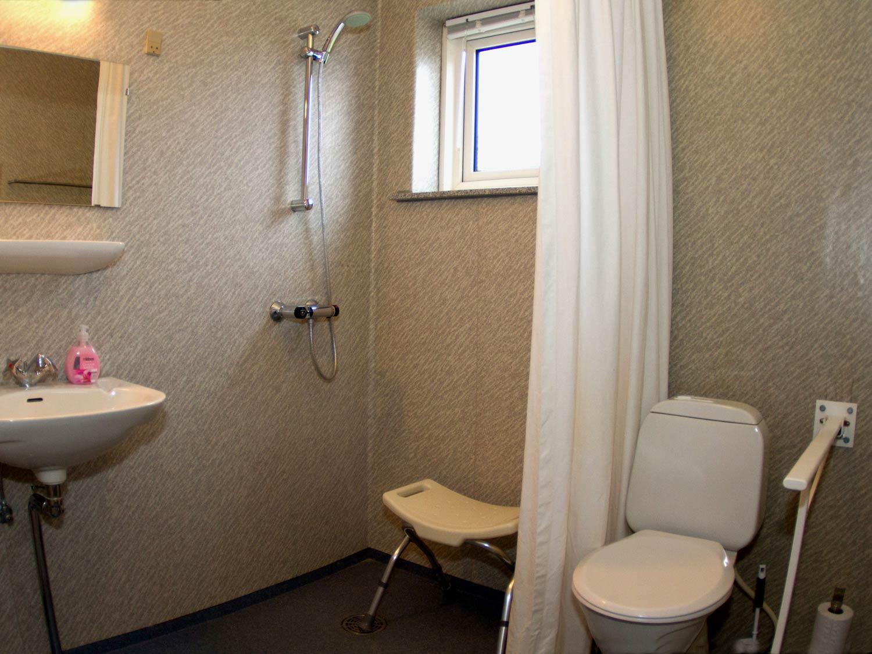 Rolstoeltoegankelijke dubbele kamer - Kamer heeft een mager ...